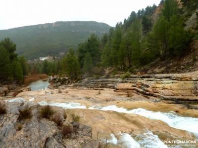 Valle Cabriel-Manchuela conquense;cascada de xorroxin puerto de la morcuera outdoor sin limite barra